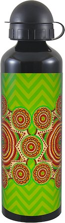 Kolorobia Madhubani Black Travel Sipper