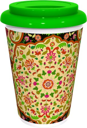 Kolorobia Exclusive Mughal Dark Cafe Mug