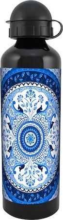 Kolorobia Turkish Blue Black Travel Sipper