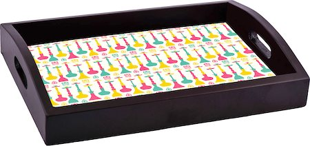 ThinNFat Hukka Bar Printed Tray