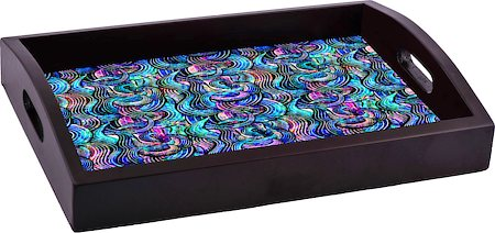 ThinNFat Rainbow Wave Printed Tray