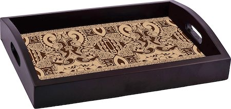 ThinNFat Tikki Design Printed Tray
