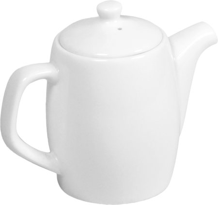 Wilmax ENGLAND Fine Porcelain Tea Pot, 350 ml (White)