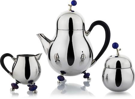 Arttdinox Blueberry Tea Set