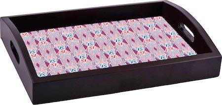 ThinNFat Arabesque mosaic Printed Tray
