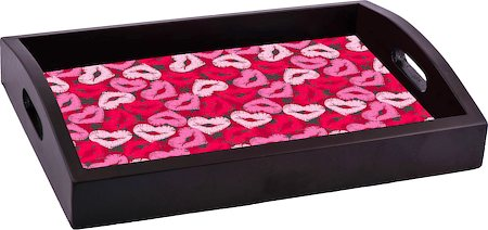 ThinNFat Lips Heart Printed Tray