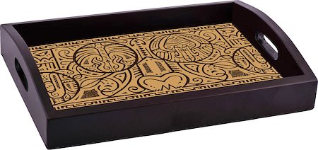 ThinNFat Maori Art Printed Tray