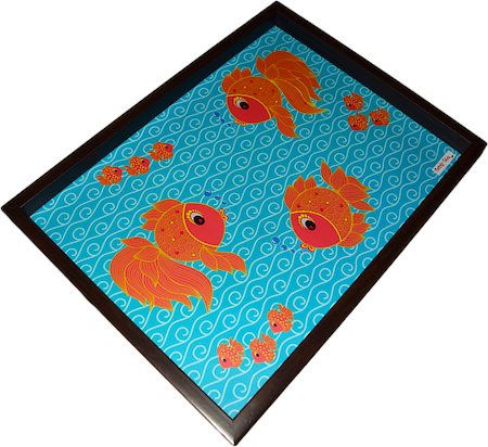 Twirly Tales Fish Series Rectangular Tray