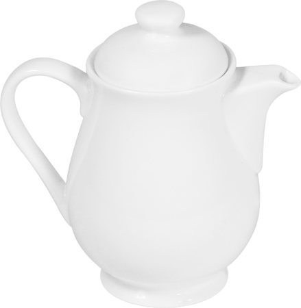 Wilmax ENGLAND Fine Porcelain Tea Pot, 320 ml (White)