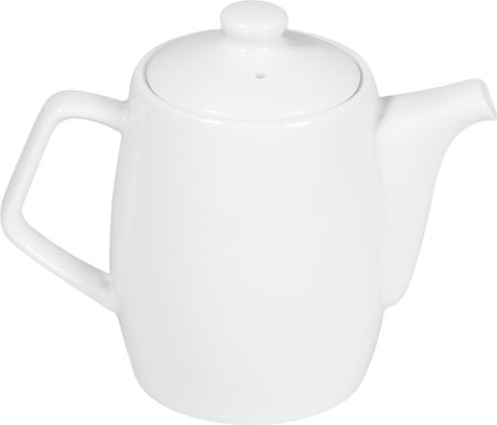 Wilmax ENGLAND Fine Porcelain Tea Pot, 500 ml (White)