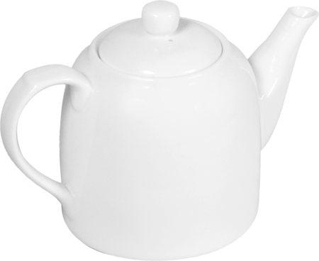 Wilmax ENGLAND Fine Porcelain Tea Pot, 900 ml (White)