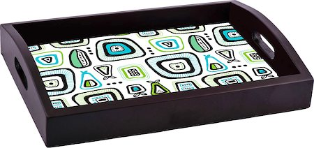 ThinNFat Doodle Design Printed Tray