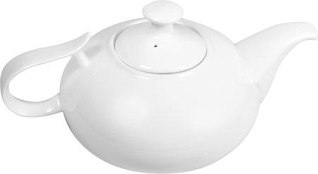 Wilmax ENGLAND Fine Porcelain Tea Pot, 1150 ml (White)