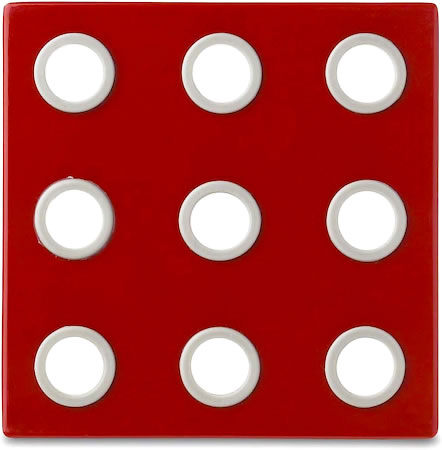 Rosti Mepal Domino Designer Trivet (Luna Red)