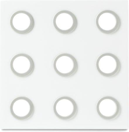 Rosti Mepal Domino Designer Trivet (White)