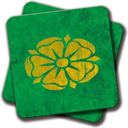 Amey Green Logo Coasters - set of 2
