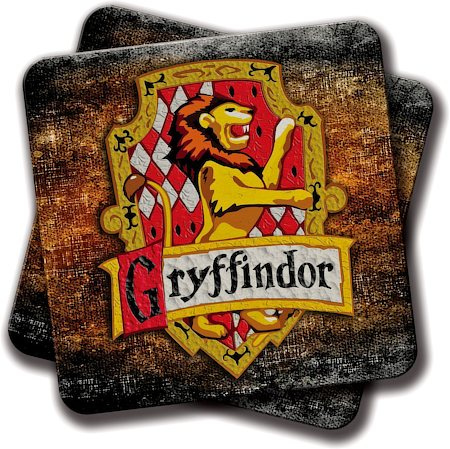 Amey Gryffindor Coasters - set of 2