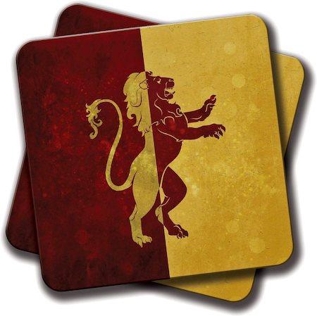 Amey GOT HP Logo Coasters - set of 2