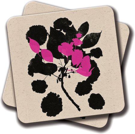 Amey Cherry Blossom Coasters - set of 2
