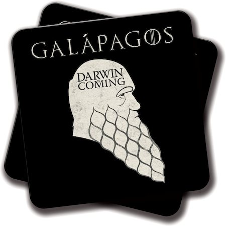 Amey Darwin is Coming Coasters - set of 2