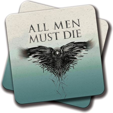 Amey Birds GOT Coasters - set of 2