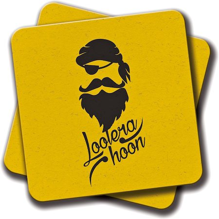 Amey Lootera Hoon Coasters - set of 2