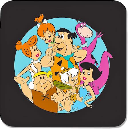 Warner Brothers The Flintstones Together Coasters - set of 4