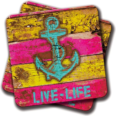 Amey Anchor Marine Coasters - set of 2