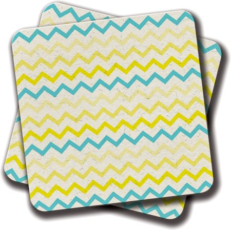 Amey Miami Sunshine Coasters - set of 2