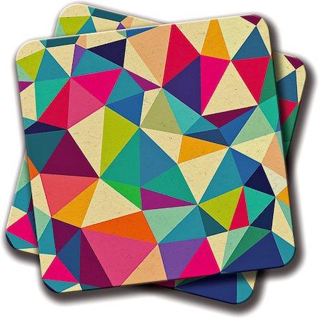 Amey Pattern Coasters - set of 2