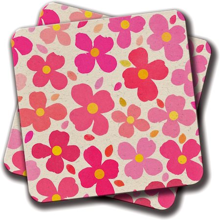 Amey Dogwood Coasters - set of 2