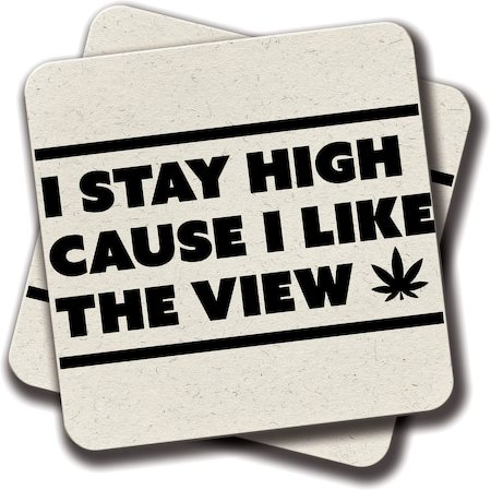 Amey High Coasters - set of 2