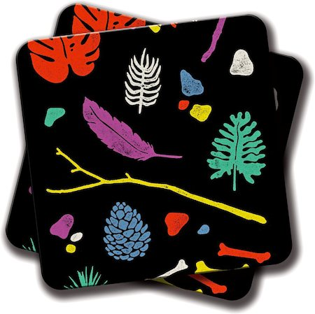 Amey Organisms Coasters - set of 2