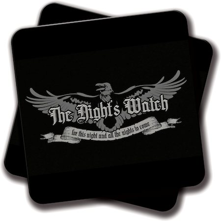 Amey The Night's Watch Coasters - set of 2