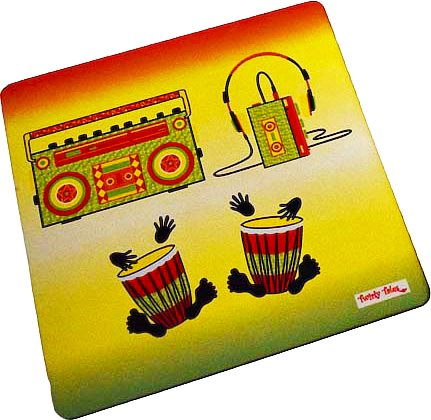 Twirly Tales Music Series Trivets - set of 2
