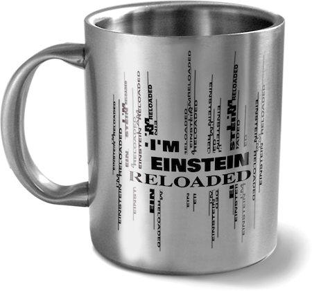 Hot Muggs I'm Einstein Reloaded Mug