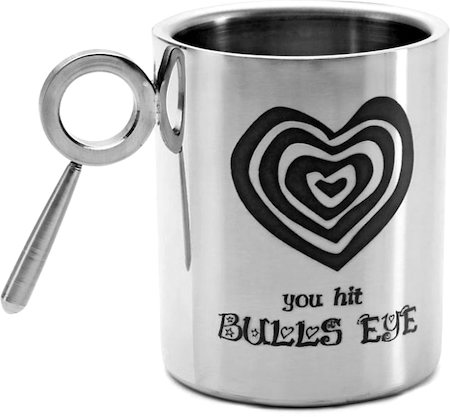 Hot Muggs For You - You Hit Bulls Eye Mug