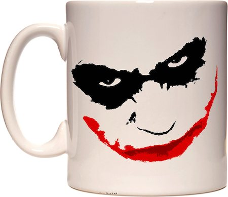 Warner Brothers Joker Why So Serious Mug