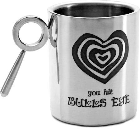 Hot Muggs For You - You Hit Bulls Eye, Mug