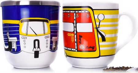 Arttdinox Tuk Tuk Mugs - set of 2