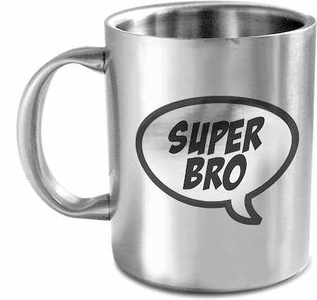Hot Muggs Super Bro Mug