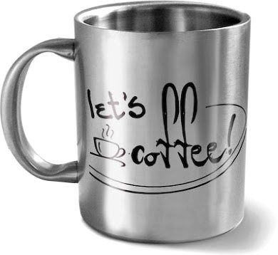 Hot Muggs Let's Coffee Mug