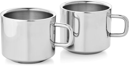 Mosaic Straight Tea Cup - set of 4