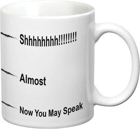 Prithish Now You May Speak White Mug