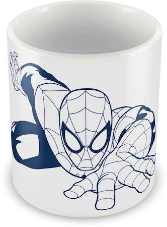 Marvel Spider-Man Web Action Ceramic Mug