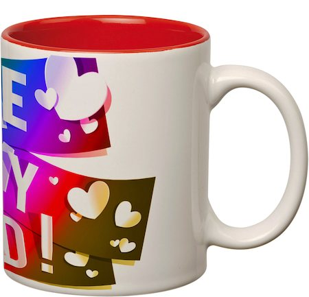 Prithish I Love You Dad Double Color Mug