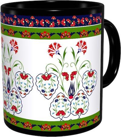 Kolorobia Sparkling Turkish Classic Black Mug