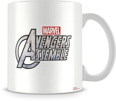 Marvel Avengers Assemble in Action Ceramic Mug