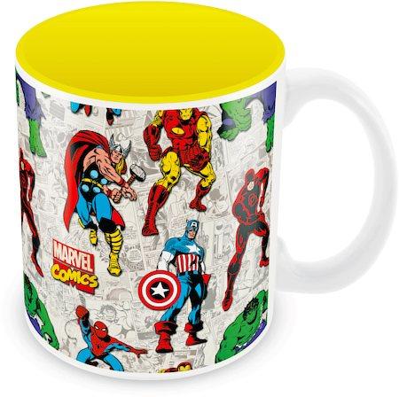 Marvel Comics All Avengers Ceramic Mug