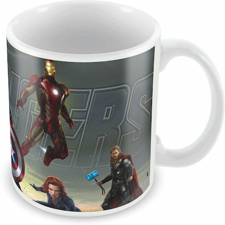 Marvel Avengers Cast Ceramic Mug
